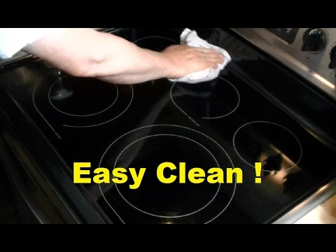 How To Clean A Smooth Top Ceramic Stove
