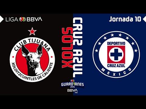 Resumen y Goles   Tijuana vs Cruz Azul   Liga BBVA MX - Guardianes 2020 - Jornada 10