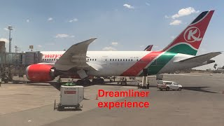 Kenya Airways Dreamliner Experience