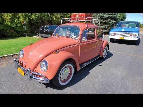 1967 Volkswagen Beetle For Sale~Beautiful Restoration~1600 Motor~Vintage Luggage Rack