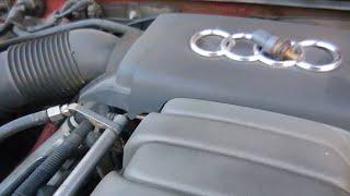 Как заменить и проверить на Audi A6 Датчик температуры ОЖ