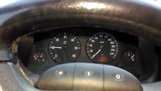 vuclip Opel Astra 2.0 DTI 74kW (2002) Cold Start (-18,5 outside) [www.plakys.lt]