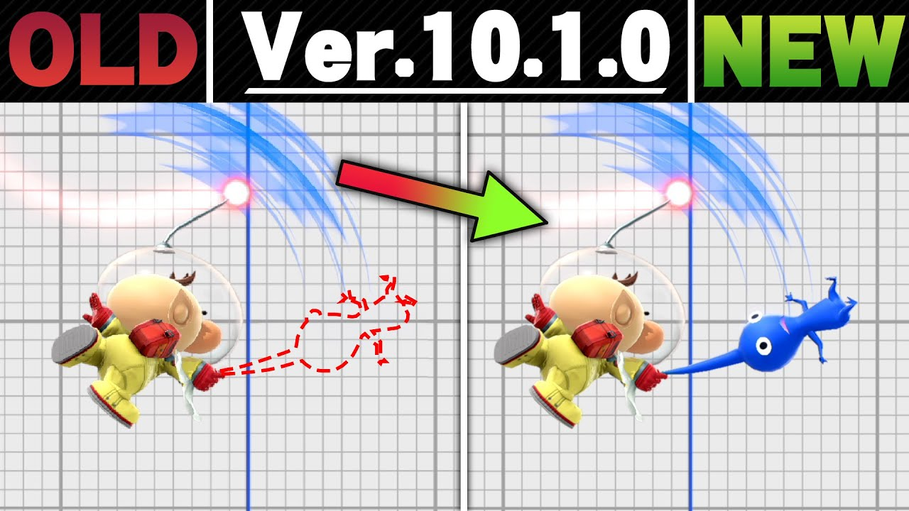 Smash Ultimate Patch Notes 10 1 0 Side By Side Comparison Youtube
