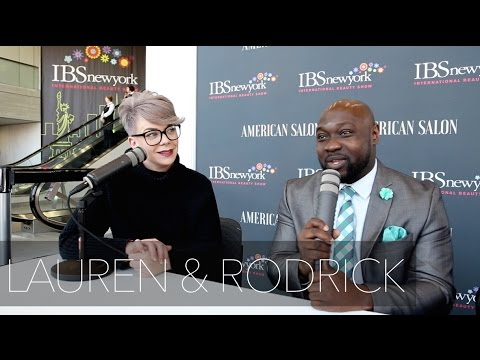 American Salon Magazine Interview W/ LAUREN MOSER & RODRICK SAMUELS  International Beauty Show NYC