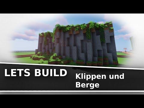 Lets Build - Klippen Und Berge | Minecraft Tutorial [Deutsch]
