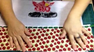 Barra pano de prato By Ciça Farias