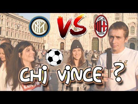 Inter Vs Milan - I pronostici degli ITALIANI a MILANO ● Interviste Serie A