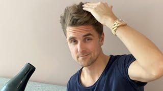 Self isolation hair routine - corona hair talk - By Vilain giveaway