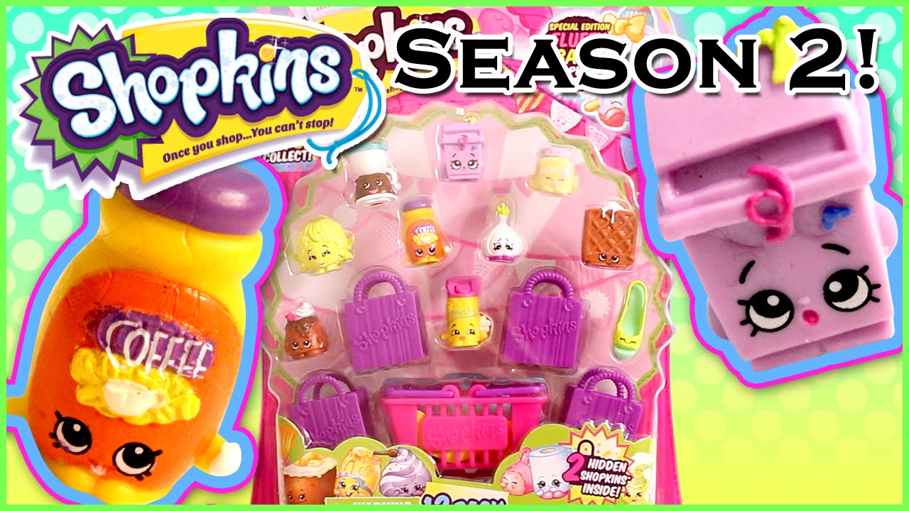 Shopkins season2 12 pack cute kawaii collectible toys with surprise
