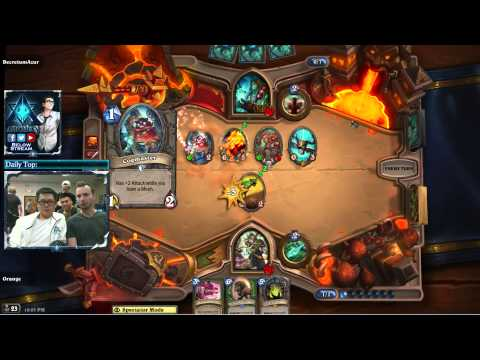 Hearthstone Amaz Playing Games With Fans At Archon Gaming House
