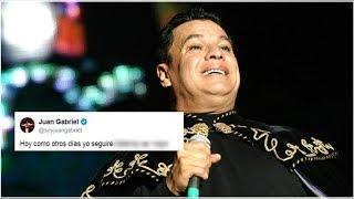 Juan Gabriel manda polémico mensaje en redes ¿confirmando que sigue vivo?