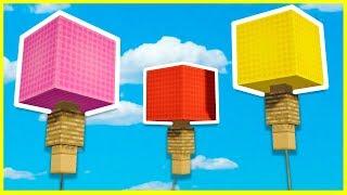 Minecraft - Como hacer Globos para tu mundo
