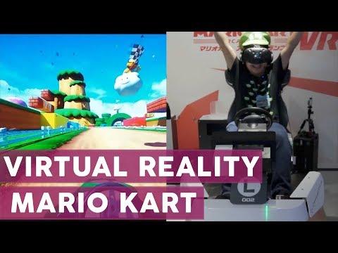 Das wollen wir auch! Mario Kart für Virtual Reality