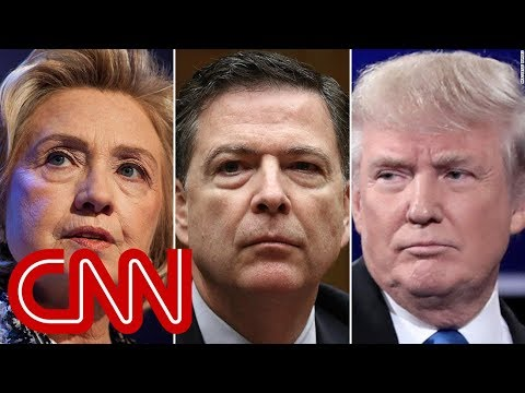 CNN: NYT: Trump wanted to order prosecution of Clinton, Comey