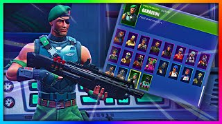 """Before You Buy """"GARRISON"""" - All Back Bling's Combinations in Fortnite"""
