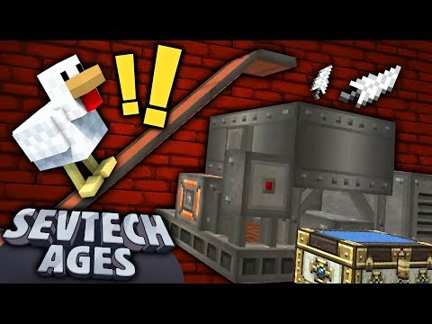 Minecraft: SevTech - THE CRUSHER - Age 3 #14 : Yogscast