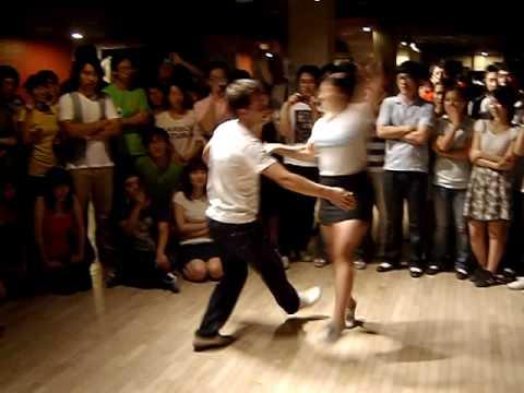 Thomas Alice Social Dance Lindyhop Korea Welcome P...
