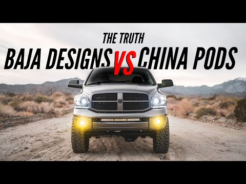 Cheap VS Expensive LED Lights   The Truth About Baja Designs!