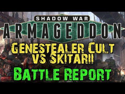 Shadow War : Armageddon Campaign Game 5 - Genestealter Cult vs Skitarii