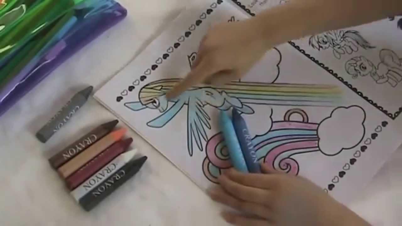 My little pony colouring book uk - Mlp Rainbow Dash Coloring Fun 2 My Little Pony Jumbo Coloring Book