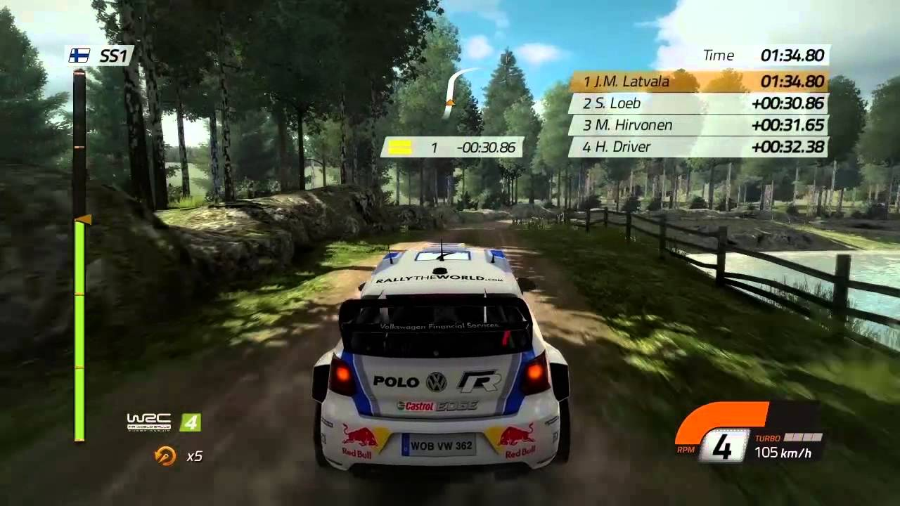 wrc 4 gameplay video 1 youtube. Black Bedroom Furniture Sets. Home Design Ideas