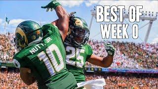 Best of week 0 of the 2017-18 college football season ᴴᴰ