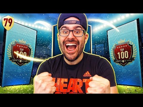BIG WALKOUT IN TOP 100 REWARDS & GOAT RETURNS!! FIFA 18 Ultimate Team Road To Fut Champions #79 RTG