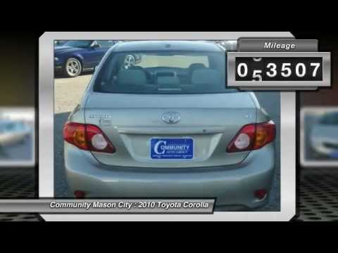 2010 Toyota Corolla Review   Community Nissan   Mason City Iowa
