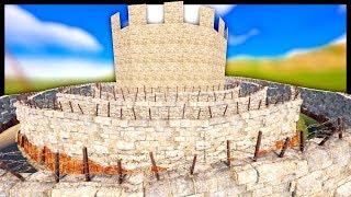 SOLO RAIDING a GREAT WALL CASTLE COMPOUND