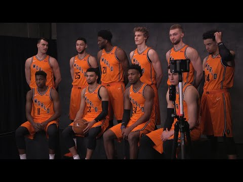 All-Star Scene: Team World All-Access