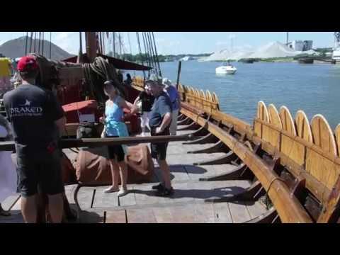 The Draken Harald Hårfagre, Fairport Harbor, Ohio, July 9th and 10th, 2016
