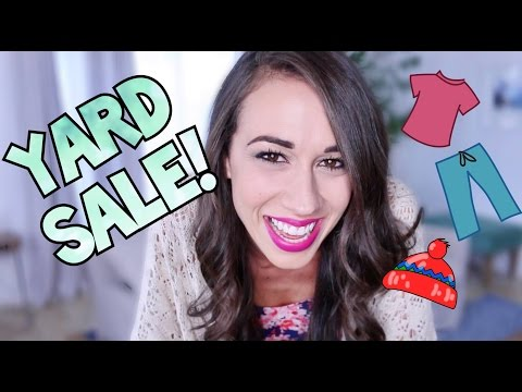 YARD SALE FOR CHARITY!