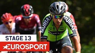 Samenvatting etappe 13 Vuelta a Espana 2019