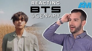 VOCAL COACH reacts to V from BTS - Scenery