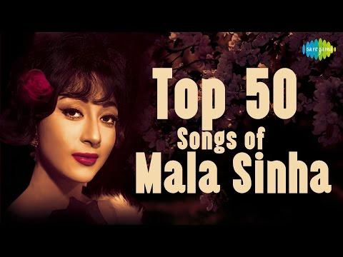 Top 50  Of Mala Sinha माला सिन्हा के 50 हिट गाने  HD   One Stop Jukebox