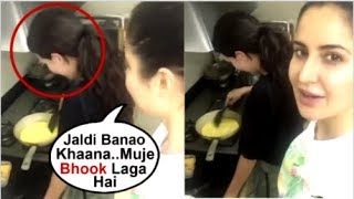 Katrina Kaif Makes FUN Of Sister Isabella Kaif While Cooking FOOD At Home- Inside Video