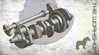 R1 Crossplane Crankshaft - CAD build - Part 2