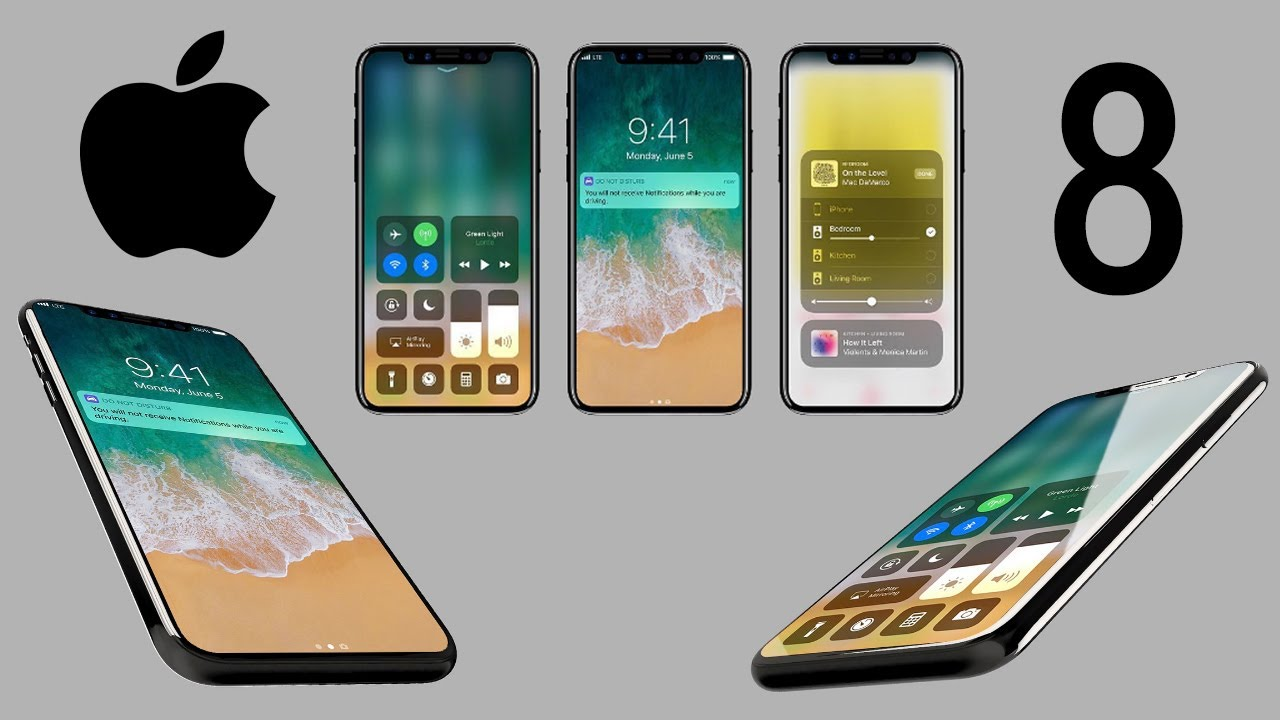 FIRST LOOK Of IPhone 8 With IOS 11 Leaked In Renders