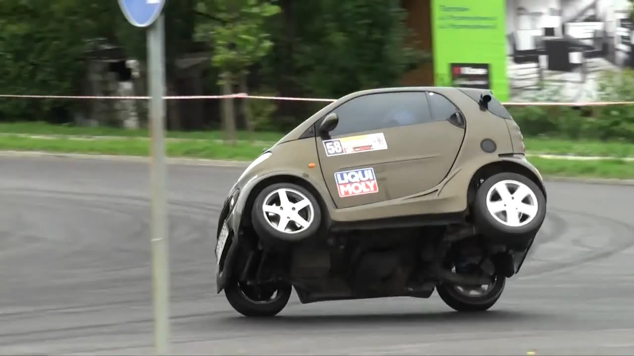 Smart Fortwo with Kawasaki Ninja engine - K. Kogut - 3 ...