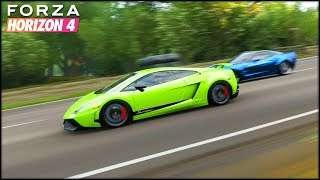 LAMBO VS ???? | Forza Horizon 4