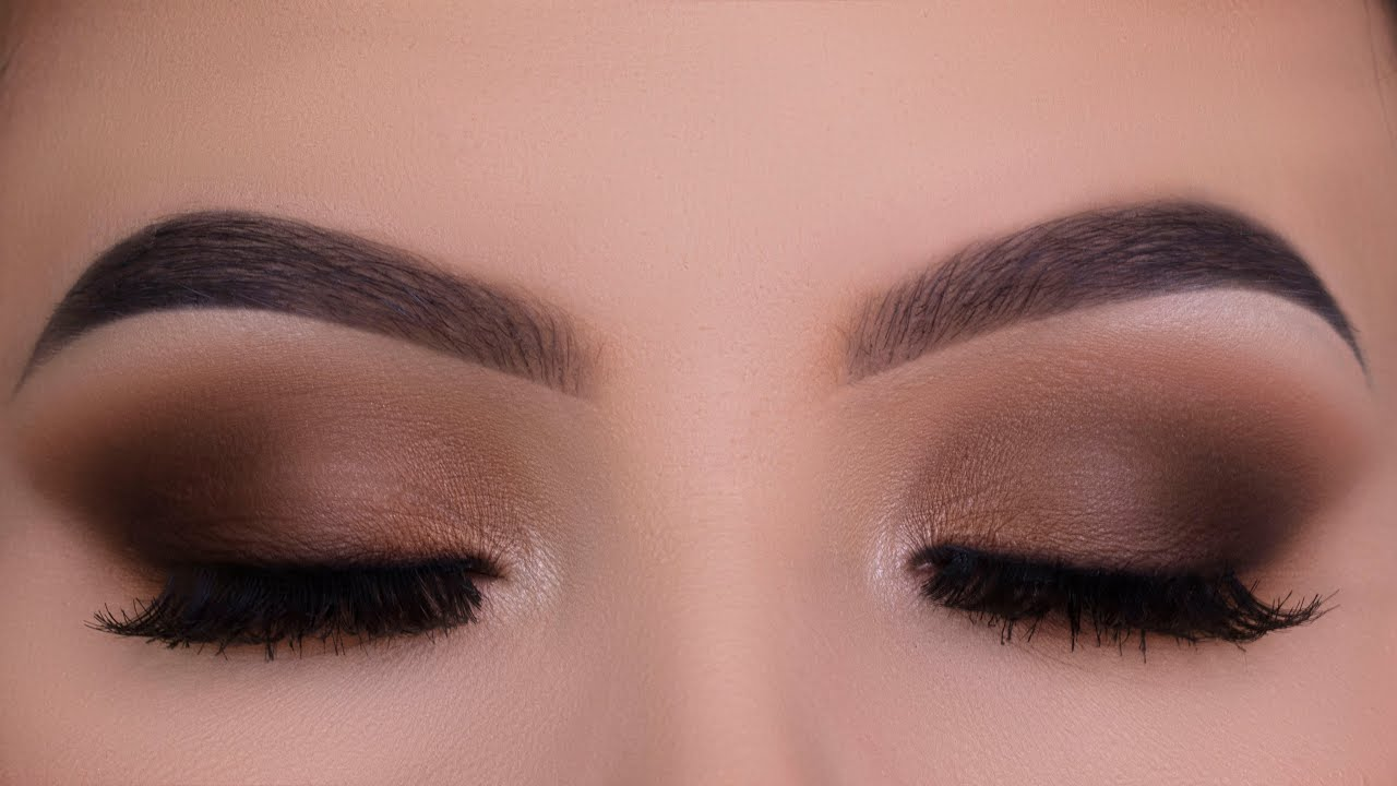 Classic Everyday Brown Eye Makeup