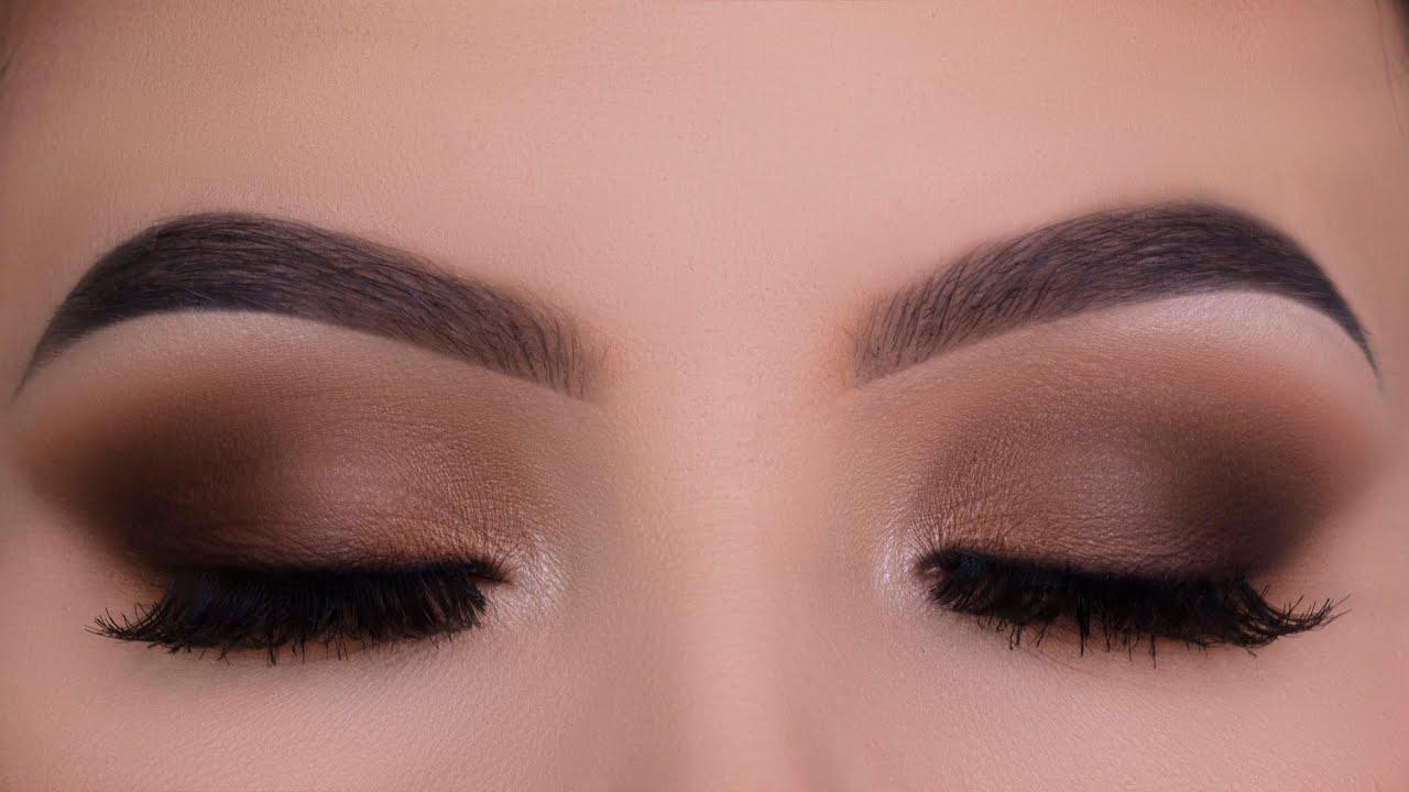 Classic Everyday Brown Eye Makeup Tutorial Youtube