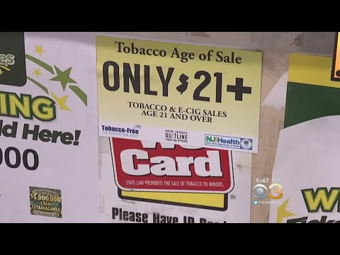 New Jersey Law Raises Age Limit For People Buying Tobacco