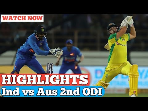 India Vs Australia 2nd ODI Highlights| Ind Vs Aus 2nd Odi Highlights |