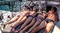 SLOW TV - Passage to Tobago - Sailing Vessel Delos - SV Delos