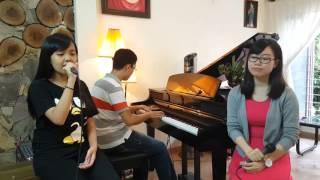 Chậm lại một phút (Acoustic cover) - Dung Nguyen - Pé Hêu - Nguyen Huyen Vu