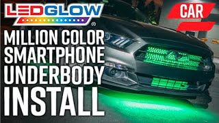 LEDGlow | How To Install Million Color Underbody Lights With Bluetooth Control