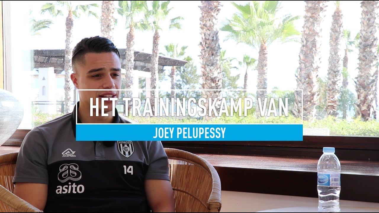 """Het trainingskamp van Joey Pelupessy: """"Stukje teambuilding"""""""