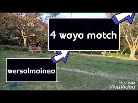 4 way match wwe fighters