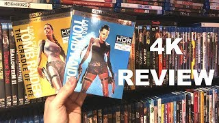 Tomb Raider 4K Blu-ray Review | Dolby Vision HDR